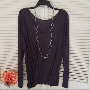 NWT EXPRESS TWO Chick Ways Top L